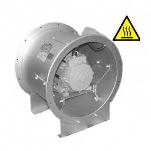 Hoge temperatuur axiaal ventilator