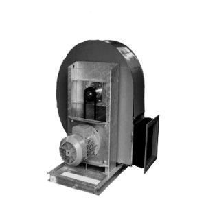 VRE belt driven kunststof centrifugaal ventilator van Mietzsch - DE WIT ventilatoren