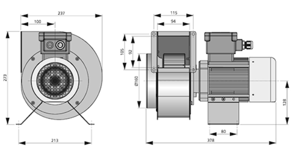 RFEX 160C-ATEX-centrifugaal-Ostberg