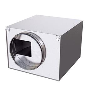 IRE boxventilator geluidgedempt DE WIT ventilatoren