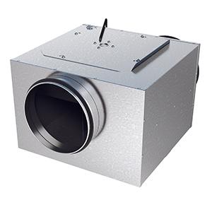 LPKB-silent boxventilator geluidgedempt zuigzijde