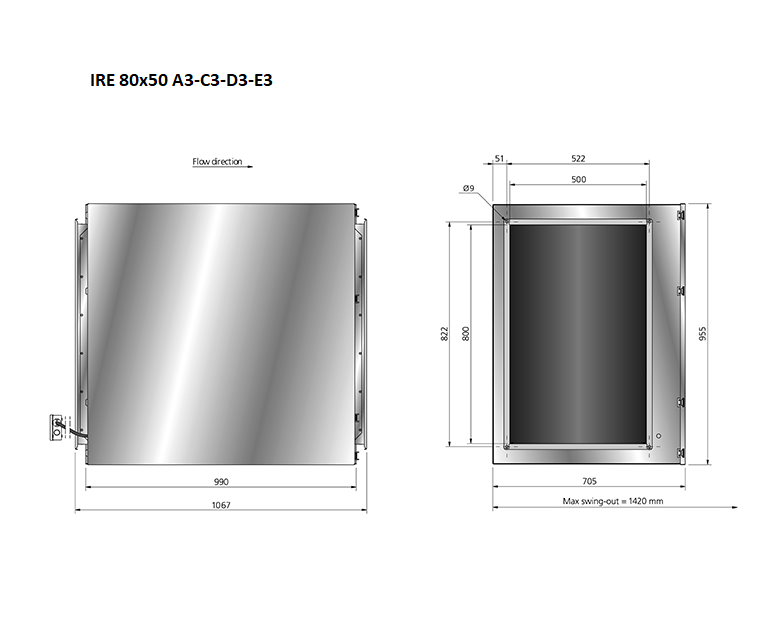 IRE80x50-boxventilator-maatvoering-Ostberg