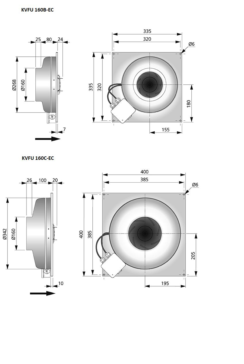 KVFU160-EC-maatvoering-wandeventilator