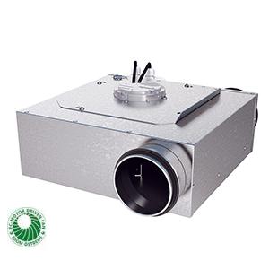 LPKB-EC kanaalventilator rond gelijkstroom