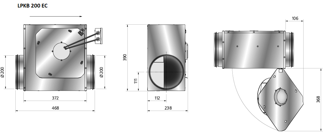 LPKB200EC-kanaalventialtor-DEWITventilatoren