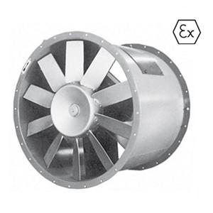 Axiaal ATEX ventilator