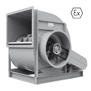 ATEX industrie ventilator DEWIT ventilatoren
