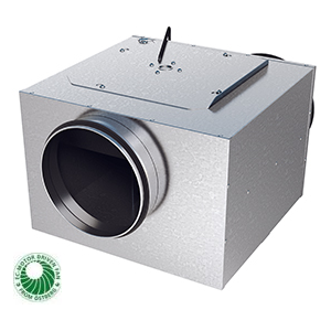LPKB-EC Silent boxventilator gelijkstroom