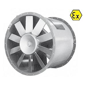 Axiaal ventilatoren ATEX type EF-EFH