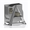 Plugventilator RQM met frame