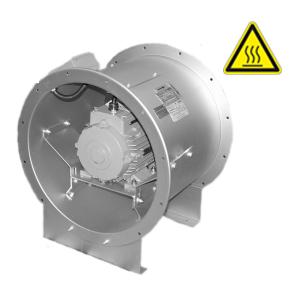 Hoge temperatuur axiaal ventilatoren DE WIT