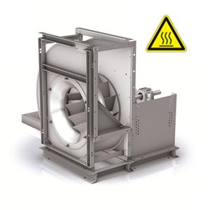 RER-centrifugaal ventilator rook- warmteafvoer