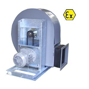 VRE ATEX kunststof centrifugaal ventilator