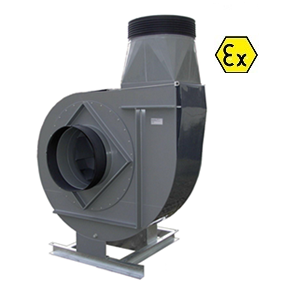 VRE-ATEX kunststof ventilator centrifugaal