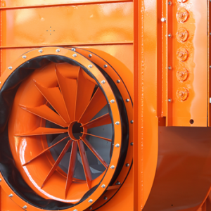 Toepassing heavy duty centrifugaal