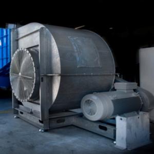 heavy duty centrifugaal ventilator testing