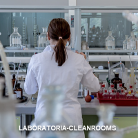 laboratoria cleanrooms afzuiging